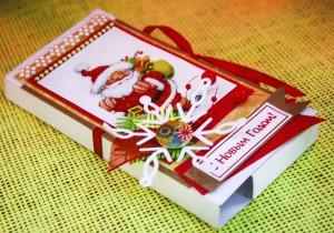 Конверт для шоколада своими руками 2